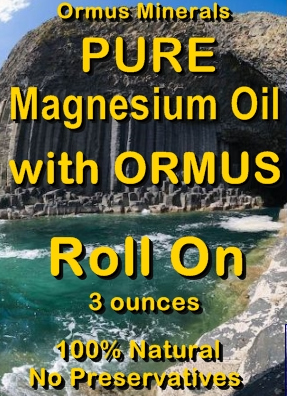 Ormus Minerals -Pure Magnesium Oil with ORMUS Roll On